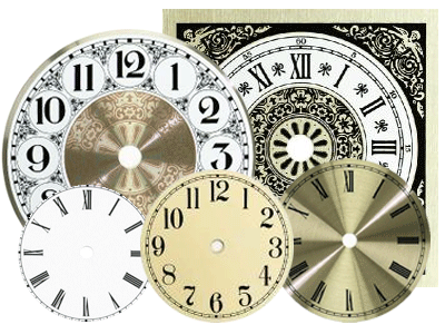 Clock dials, metal clock faces | Bear Woods Supply