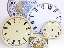 Clock dials for quartz movements | Bear Woods Supply