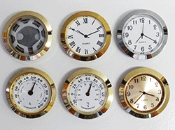 Buy clock inserts and fit-ups small | Bear Woods Supply