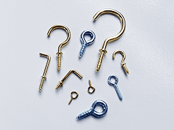 Shop for cup hooks, shoulder hooks and screw eyes | Bear Woods Supply Company