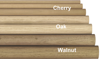Teak Wood Dowel 3 4 Quot X 36 Quot Box Of 25