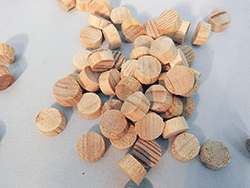 Flat Head Pine Wood Plugs | Bear Woods Supply