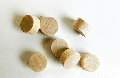 Buy Flat head Maple Wood Plugs | Bear Woods Supply