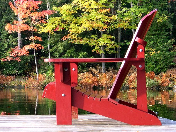 Folding Adirondack Chair Plan Downloadable