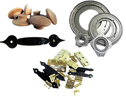 Hardware for woodworking projects