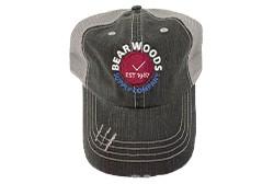 Baseball Cap - Mesh Back - BW Logo - One Size Fits All