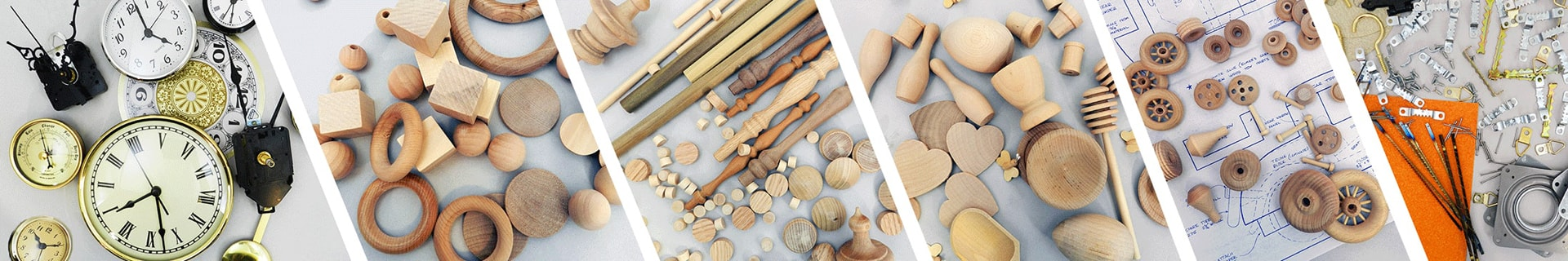 woodworking supplies, clock parts | Bear Woods Supply
