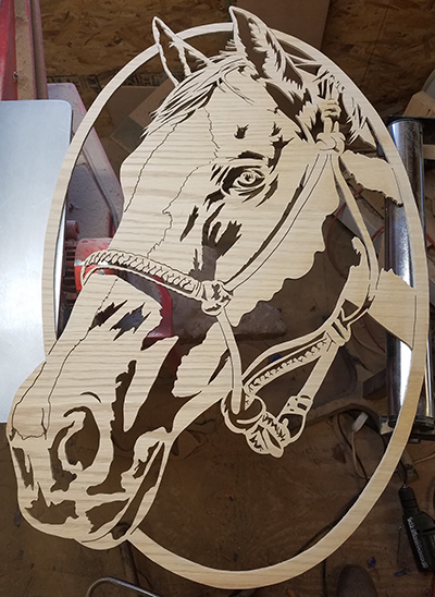 Scroll Saw Patterns Of Horses By Charles Dearing Inspiration Scroll Saw Patterns