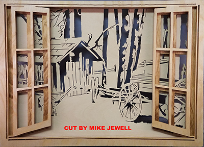 Layered Open Windows Charles Dearing Scroll Saw Patterns