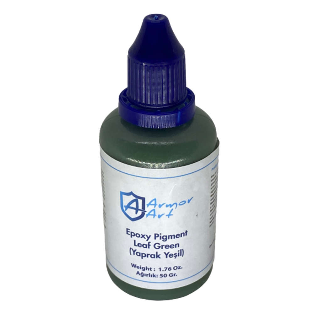 Leaf Green Epoxy Pigment
