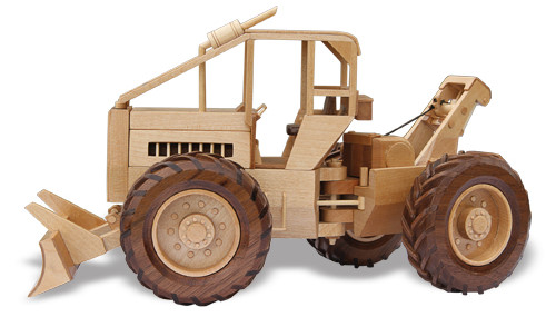Wooden Trucks Toys And Joys : The log skidder woodworking pattern approx quot