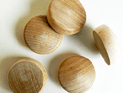 Maple round head wood plugs