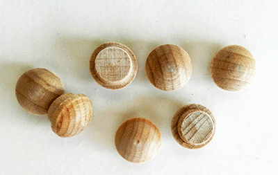 Buy Maple Screw Hole Button Wood Plugs | Bear Woods Supply