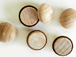 Buy Maple Screw Hole Button Wood Plugs | Bear Wood Supply