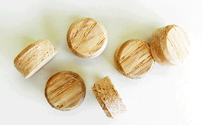 Buy Maple Side Grain Floor Plugs | Bear Woods Supply
