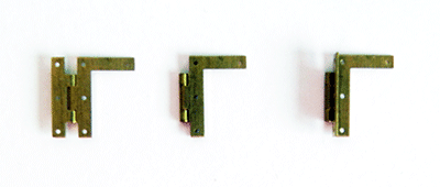 Buy miniature brass LN hinges | Bear Woods Supply