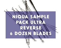 Niqua ULTRA Reverse Scroll Saw Blades Sample Pack - 6 Dozen Blades