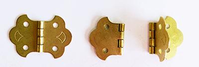 Buy ornamental brass butterfly hinges   Bear Woods Supply