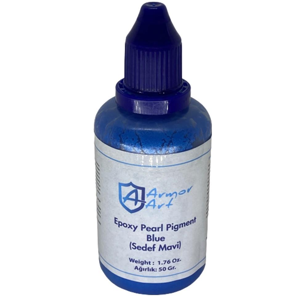 Pearl Blue Epoxy Pigment
