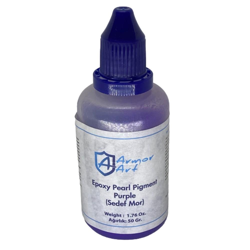 Pearl Purple Epoxy Pigment