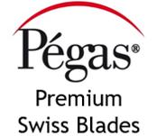Pegas scroll saw blades logo