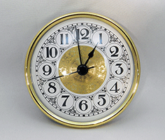 Fancy Arabic Premium Clock Insert 2-3/4 inch | Bear Woods Supply