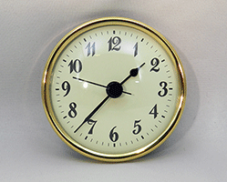 Ivory Arabic Premium Clock Insert 2-3/4 inch   Bear Woods Supply