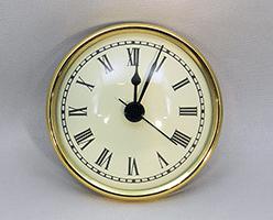 Ivory Roman Premium Clock Insert 2-3/4 inch   Bear Woods Supply