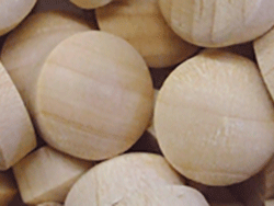 round head wood plugs, beech hardwood wholesale