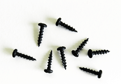 Buy round head black hinge screws | Bear Woods Supply