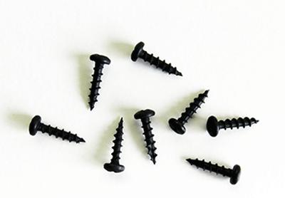 Buy Round Head Black Hinge Screws | Bear Woods Supply