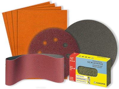Sanding belts, sanding discs, sandpaper | Bear Woods Supply