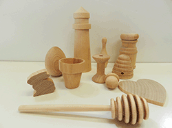 Buy wooden craft shapes, eggs, fruit, bugs | Bear Woods Supply