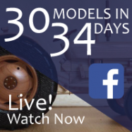 30 Wooden Models in 34 Days