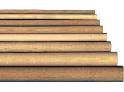 Ash wooden dowel rods, ash doweling | Bear Woods Supply