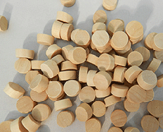 Flat head Birch Wood Plugs | Bear Woods Supply
