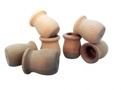 Wood Candle Cups 1-9/16 inch by 1-3/8 inch (Per 25)