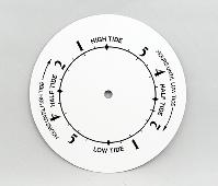 "White Tide Clock Dial 6"" | Bear Woods Supply"