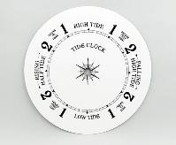 "White Tide Clock Dial 8"" | Bear Woods Supply"