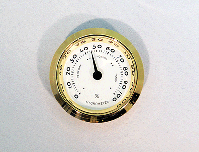 Mini Hygrometer Clock Insert | Bear Woods Supply
