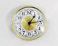 Brass Fancy White Arabic Clock Insert | Bear Woods Supply