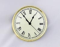 Ivory Roman Clock Insert | Bear Woods Supply