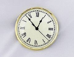 Ivory Roman Clock Insert   Bear Woods Supply