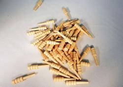 Wooden Cribbage Pegs in Unfinished Birch | Bear Woods Supply