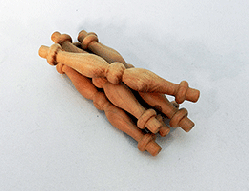 Cherry Furniture Spindle 3-7/16 inch | Bear Woods Supply