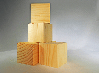 CU-250 Wood Cubes | Bear Woods Supply