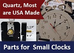 DIY Clock Repair Parts