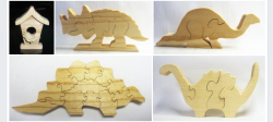 Dolcie Crawford uses Niqua Scroll Saw Blades for charity