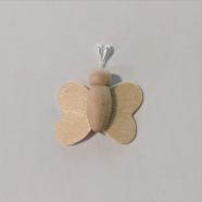 Mini wood butterfly