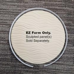 """4"""" Round Sculpted Panels EZ Form"""